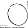 Сб.20-04-08 Кольцо поршневое маслосбрасывающее