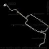 Трубопроводы воздушные (комплект) Т-72