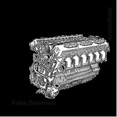 Двигатель В-84А