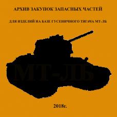 архив заявок запасных частей МТ-ЛБ
