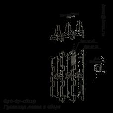 650-27-cб119 Гусеница левая в сборе