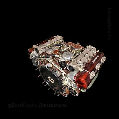5Д20К-300 дизель