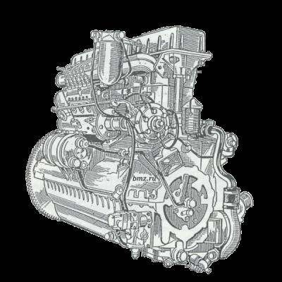 Двигатель В-6АиВ-6К